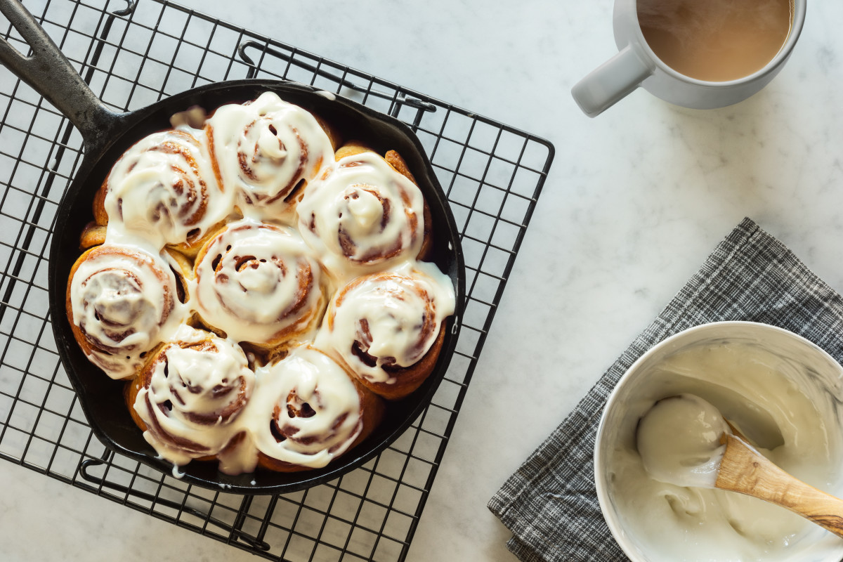 Fluffy Vegan Cinnamon Rolls Recipe
