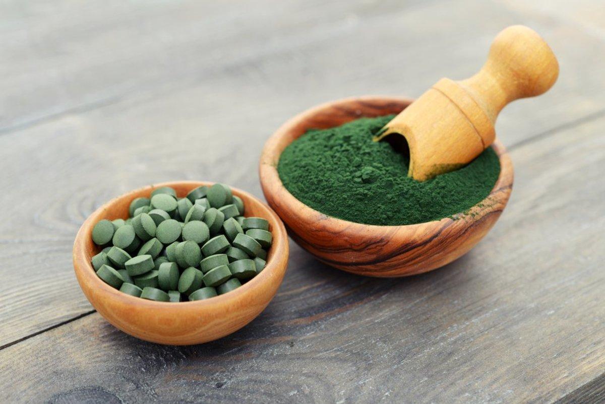 Wheatgrass supplement image via Shutterstock