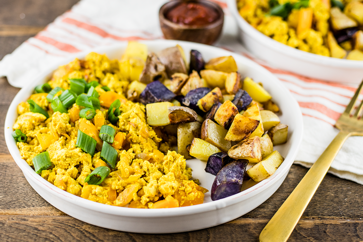 Conquer The Day With This Protein Packed Tofu Scramble Organic Authority