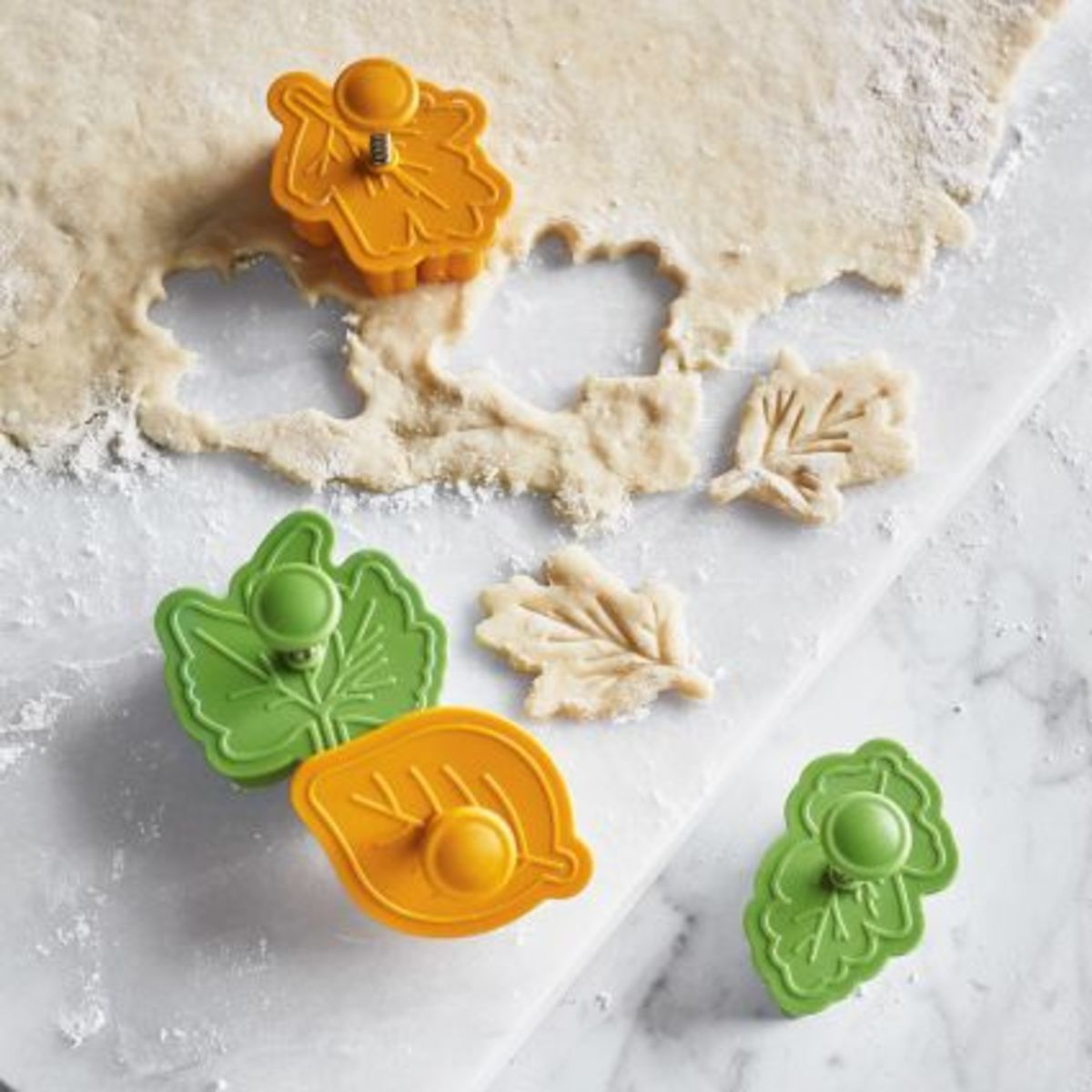Pie Leaf Cutters