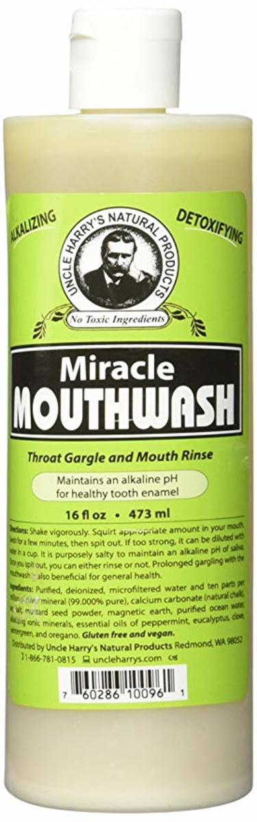 Uncle Harry's Remineralizing Mouthwash