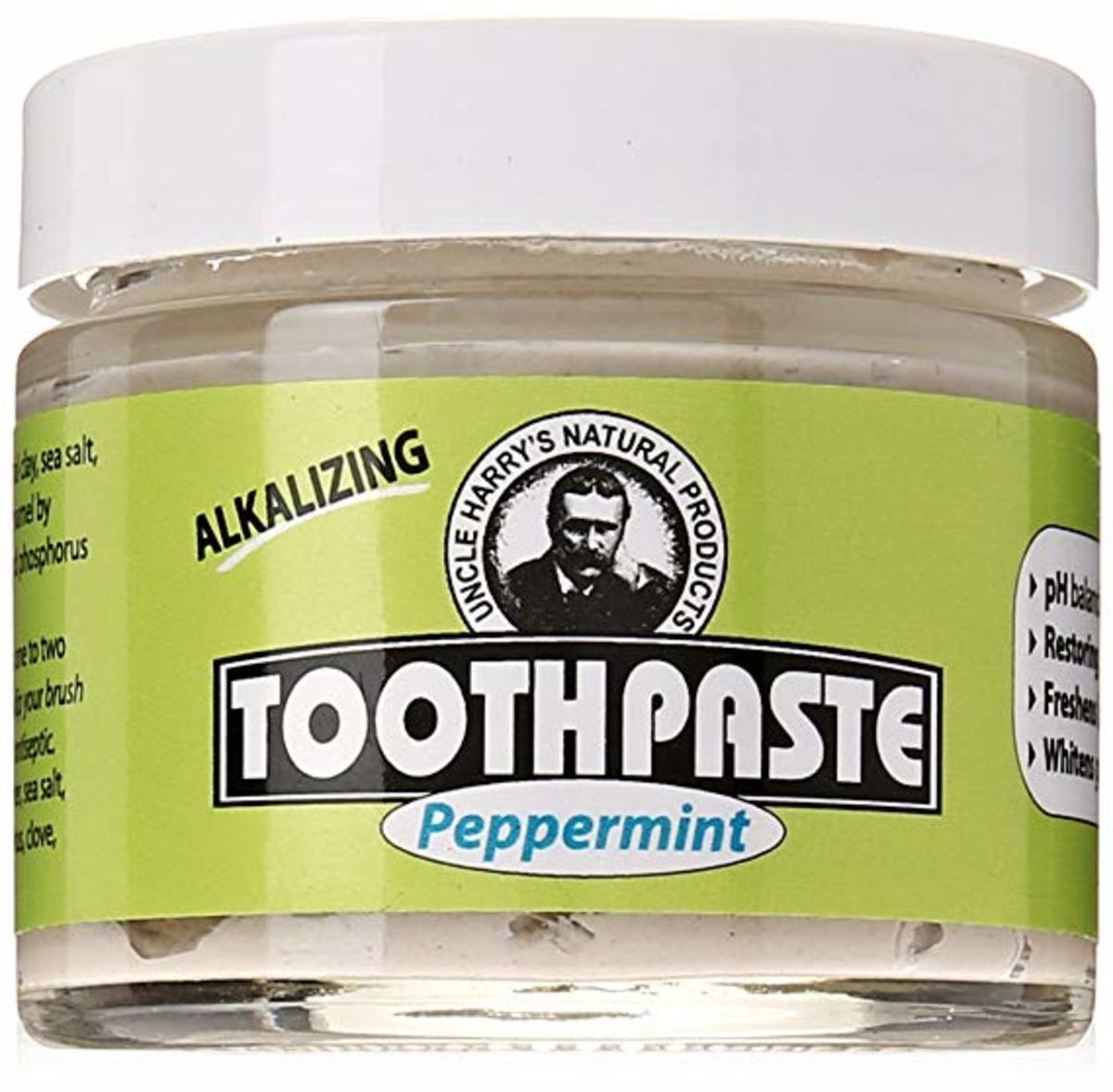 Uncle Harry's Remineralizing Toothpaste