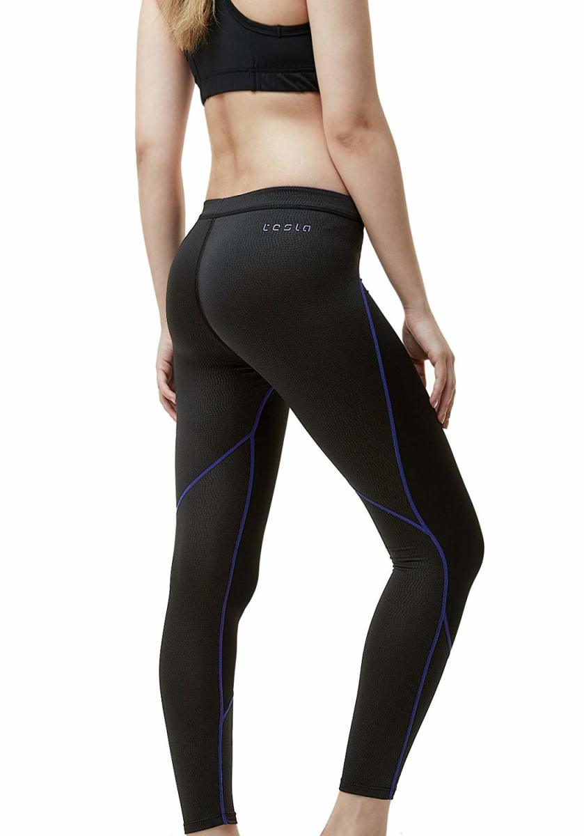 Tesla Women's Thermal Wintergear Compression Baselayer Pants Leggings Tights