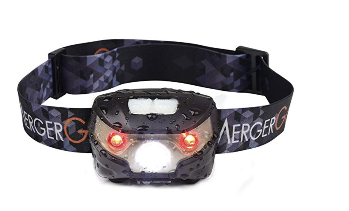 USB Rechargeable LED Headlamp Ultra Lightweight Comfortable Super Bright Waterproof Head Torch Perfect for Running