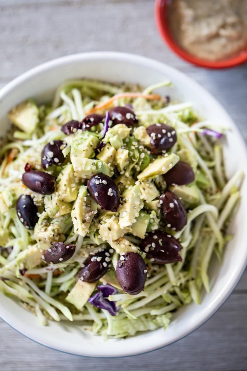 VG Broccoli Slaw salad