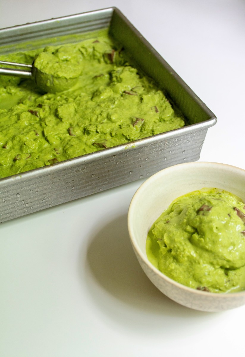 How To Make Coconut Matcha Ice Cream