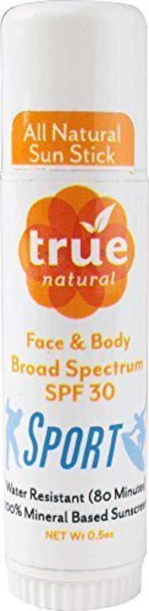 True Natural SPORT Stick SPF30 Sunscreen