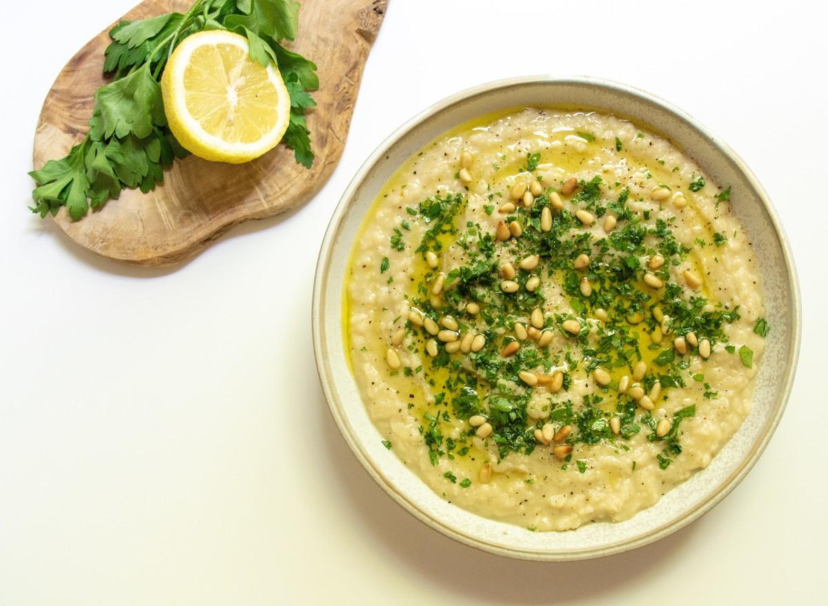 Garlic, Lemon Butter Bean Dip Recipe
