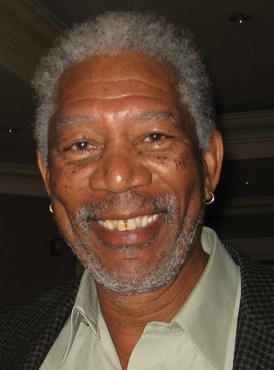 Morgan Freeman Is Feeding the Bees