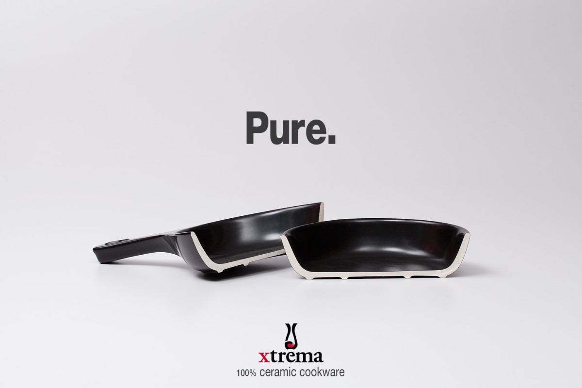 100% ceramic cookware by Xtrema