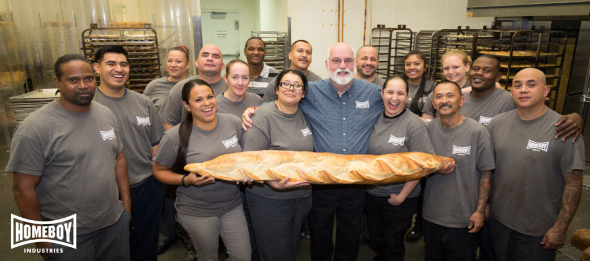 Father G with Homeboy Bakery