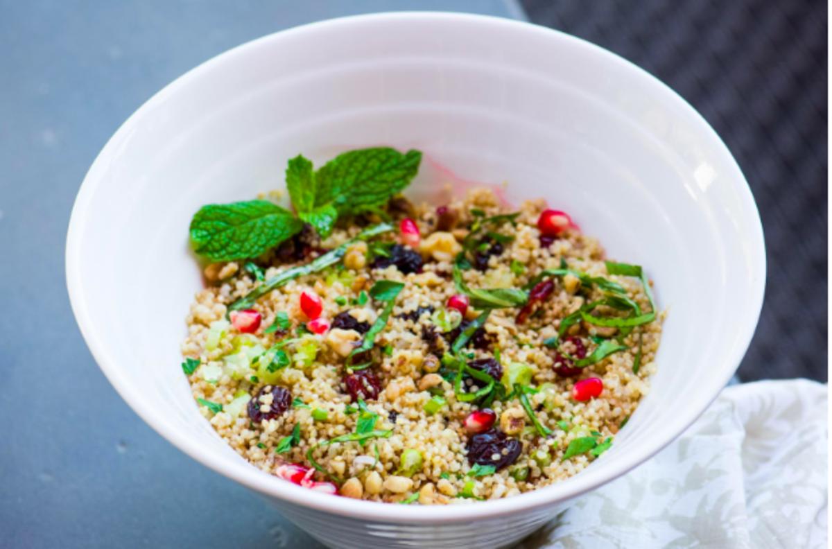 Vegan Quinoa Bowls With Edamame and Cranberries