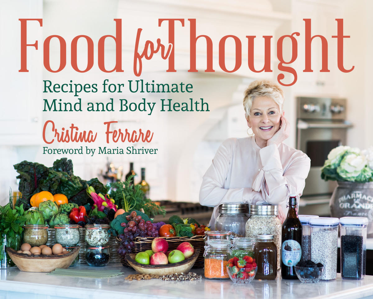 Cristina Ferrare Food For Thought Book