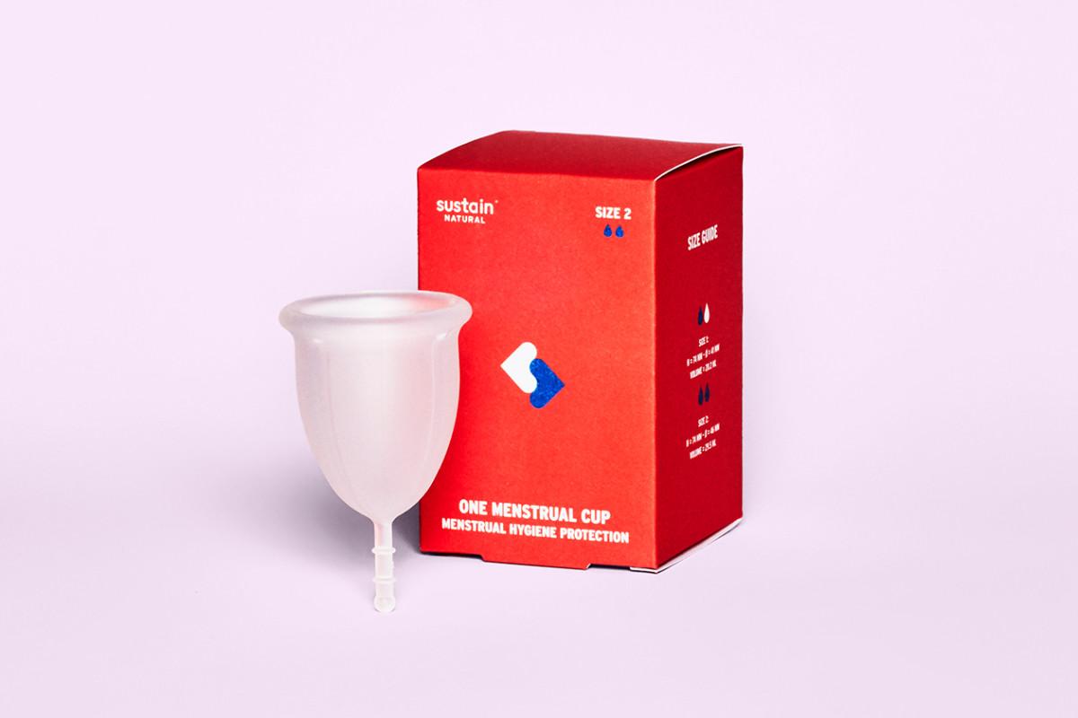 Sustain Naturals Menstrual Cup
