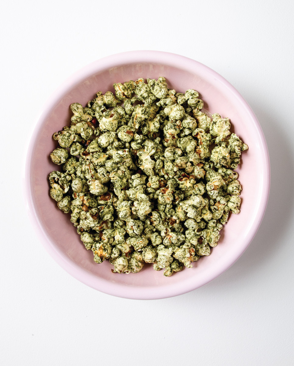 Green Supperfood Popcorn Recipe