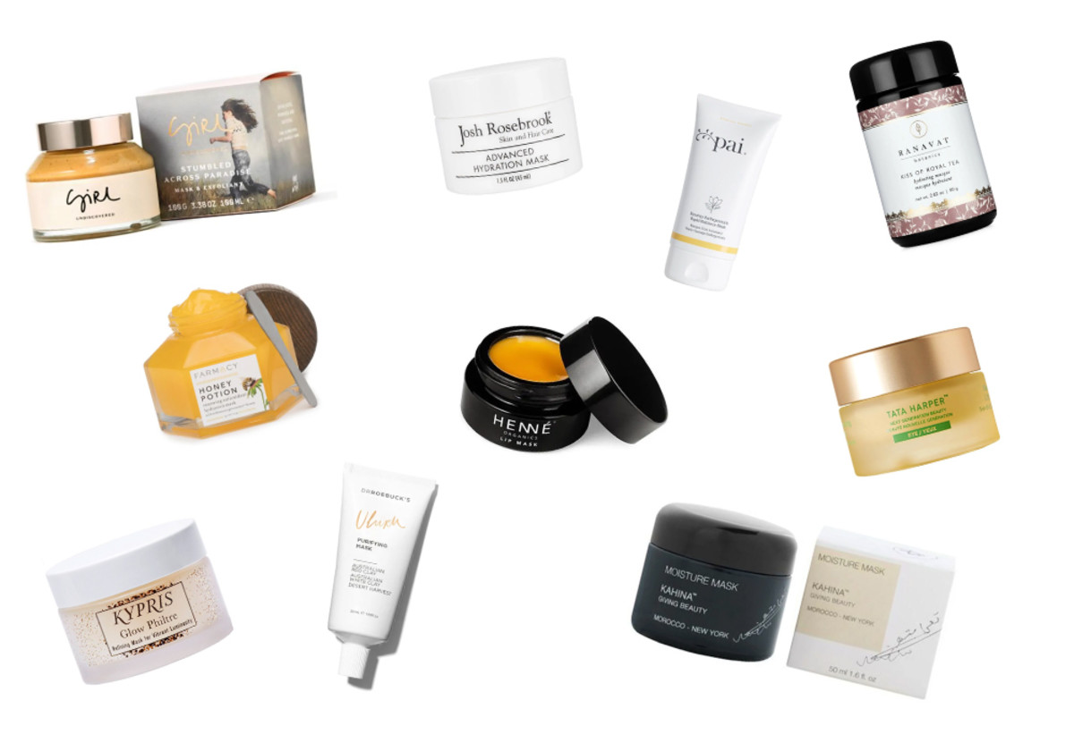 10 best natural face masks for every skin type