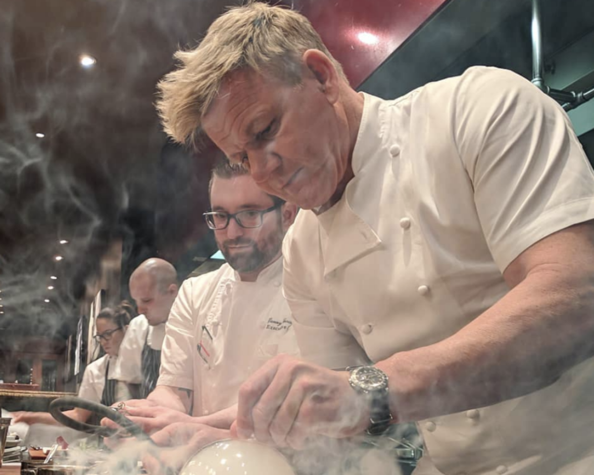 Gordon Ramsay Admits 'Veganism is on the Rise'