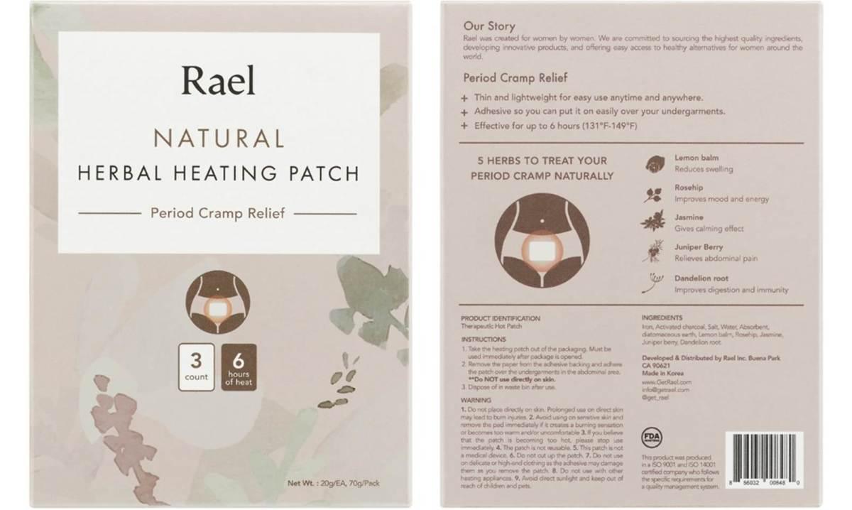 Rael Herbal Heating Patch