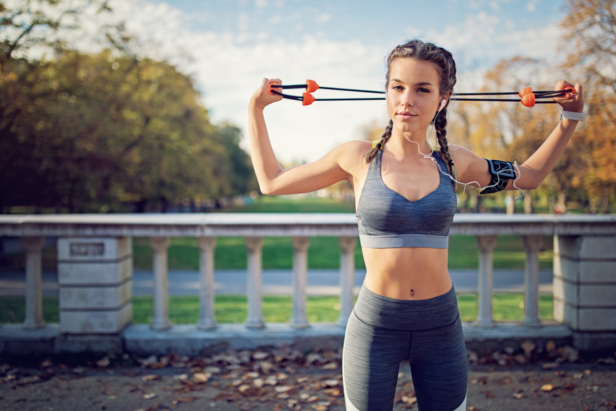 This Resistance Band Workout Will Leave You Sweating