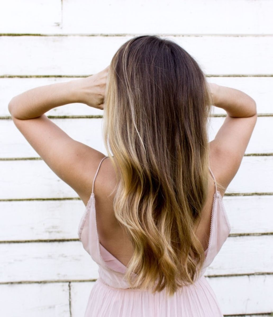 best all-natural hair care routine for healthy shiny hair