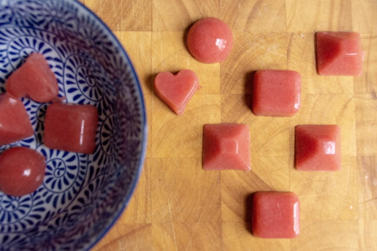 How to Make Strawberry Lemon Gummies