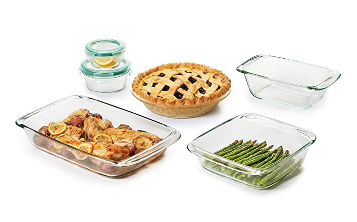 OXO Good Grips 8 Piece Freezer-to-Oven Safe Glass