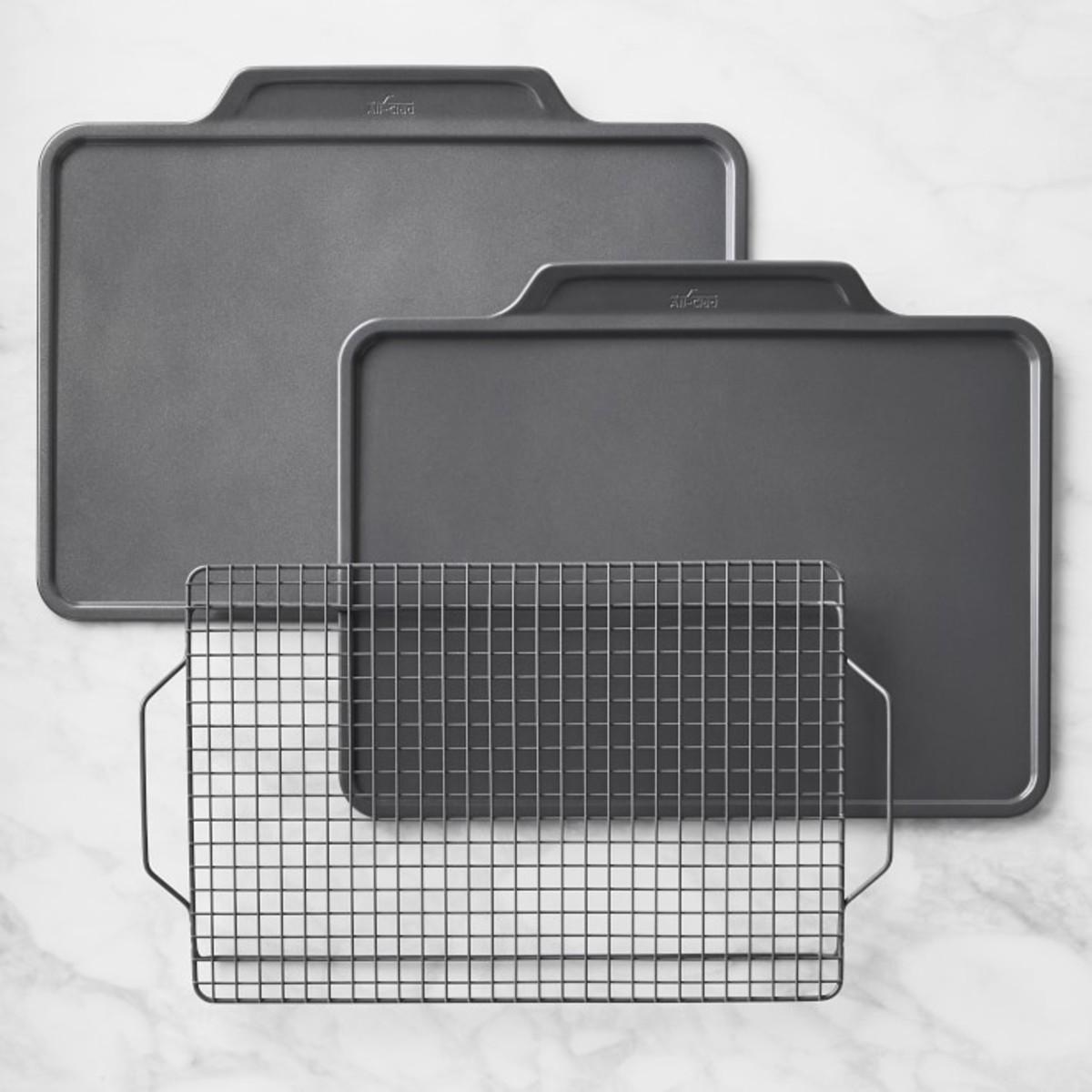 All-Clad Ceramic Nonstick Pro Release Bakeware 3-Piece Set