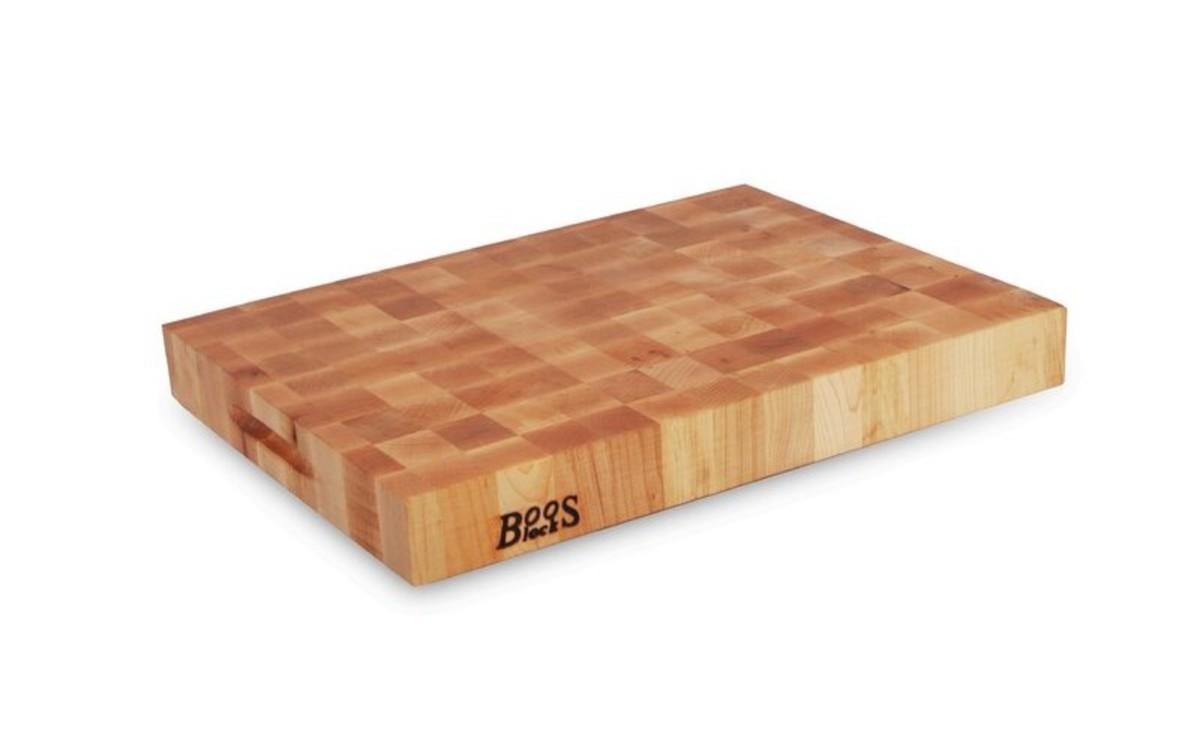 John Boos end-grain cutting board