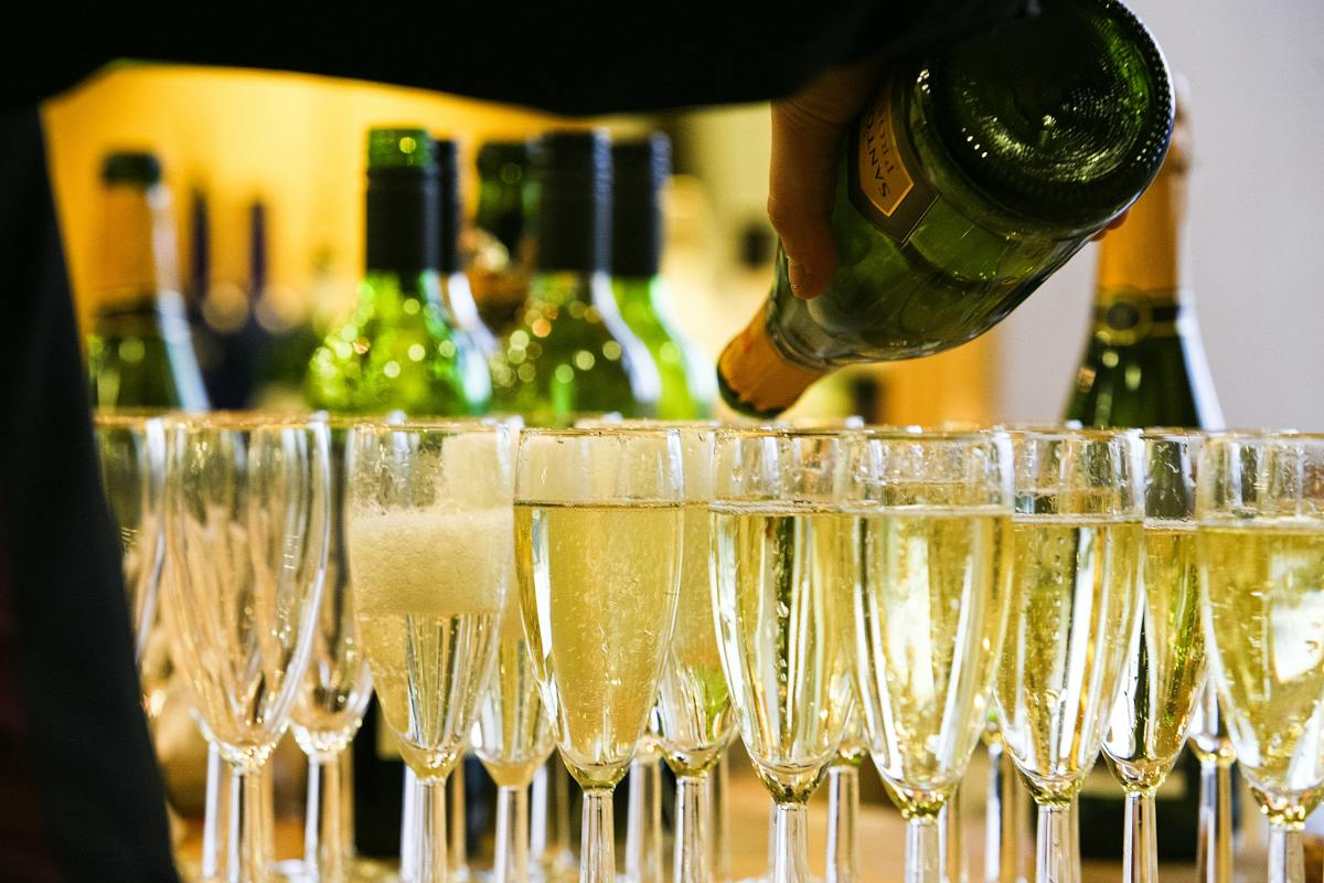 Sparkling wine elevates any moment. Celebrate yourself!