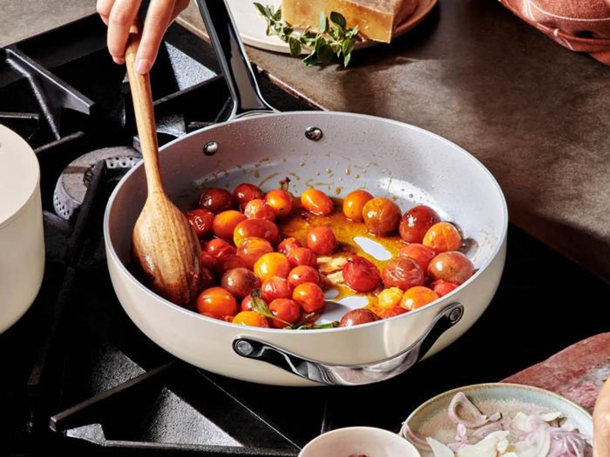 Caraway Saute Pan, $135