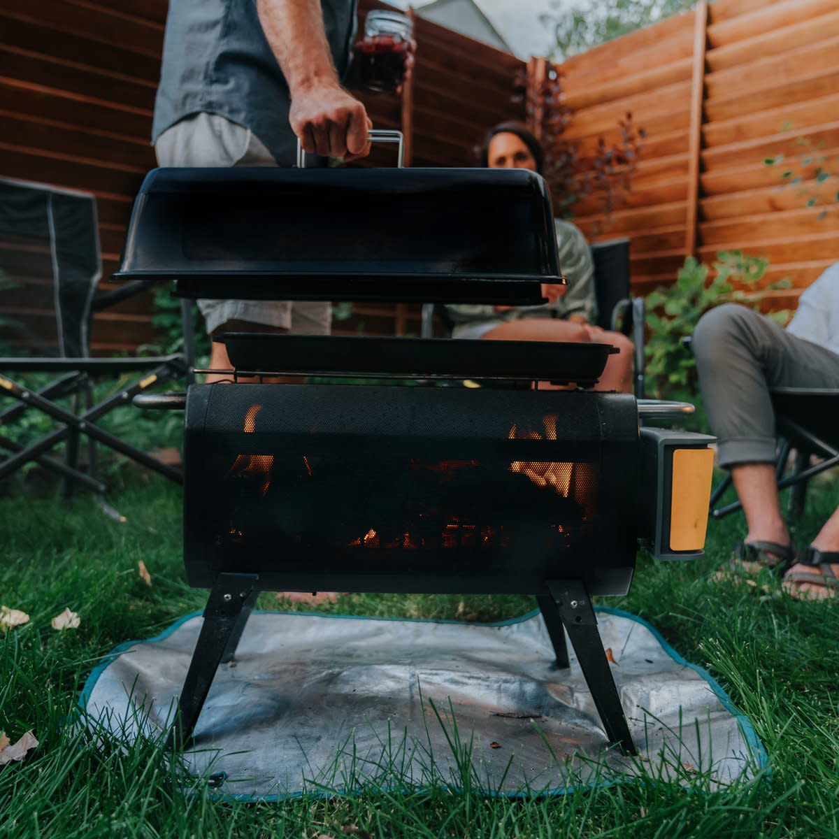 BioLite Outdoor Fire Pit Cooking Kit