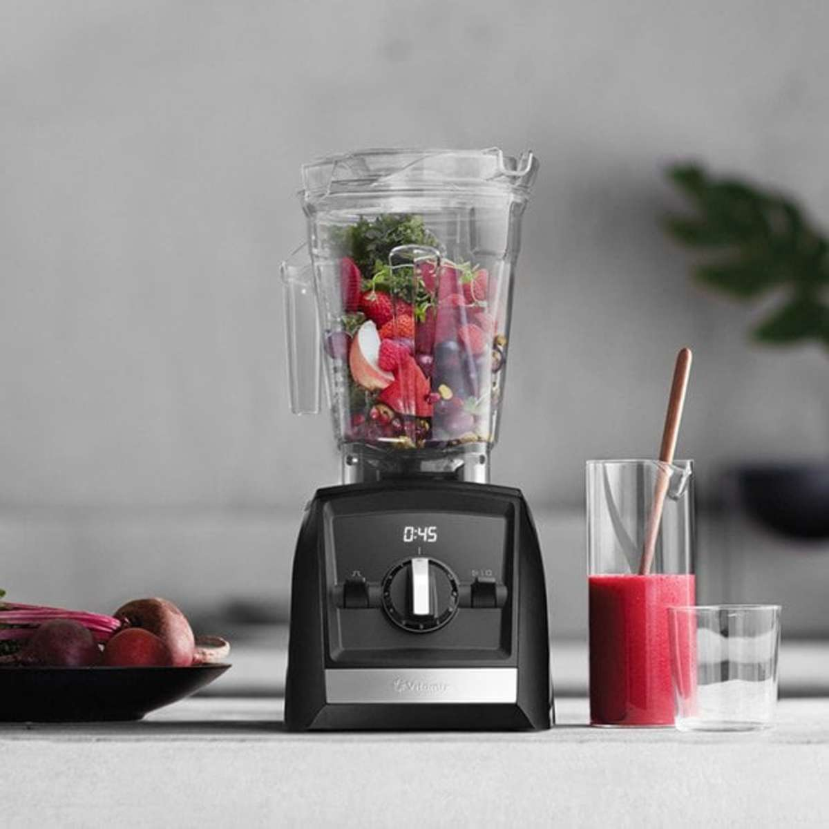 The Vitamix Ascent™ Series blender is perfect for salad dressings, hummus, soups dips and more.