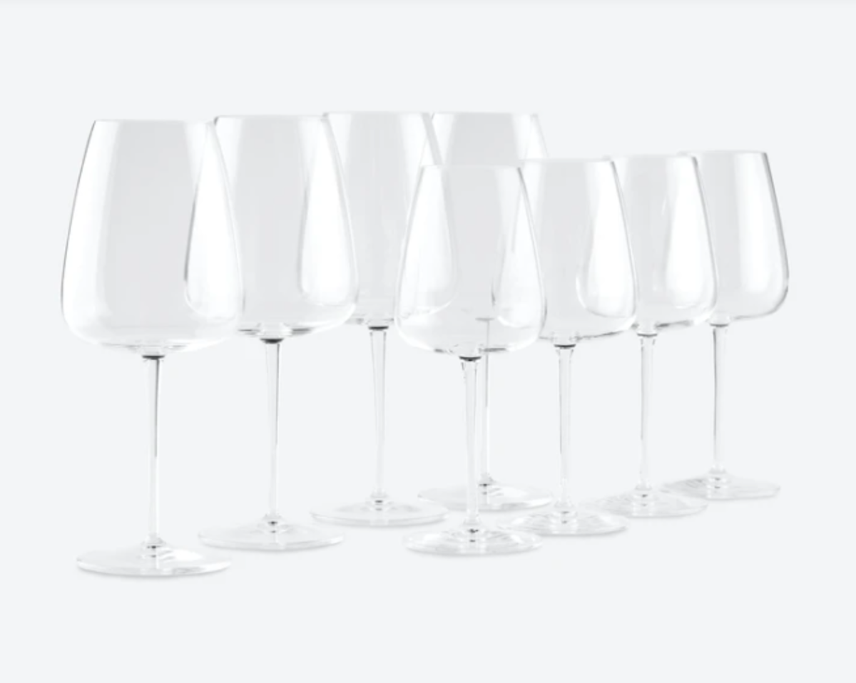 Made In wine glass collection