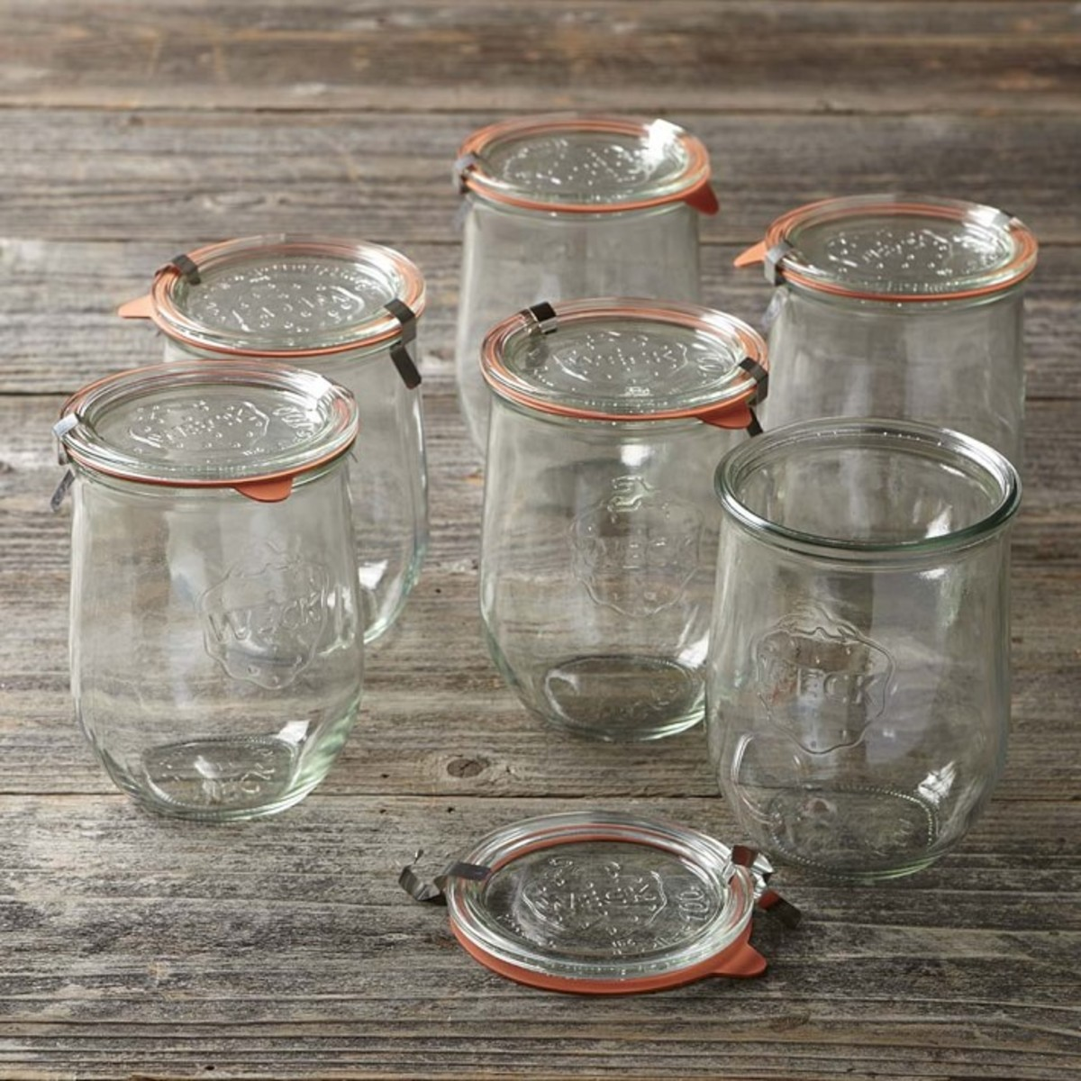 Use Weck Tulip Jars to store your homemade syrups and anything else!